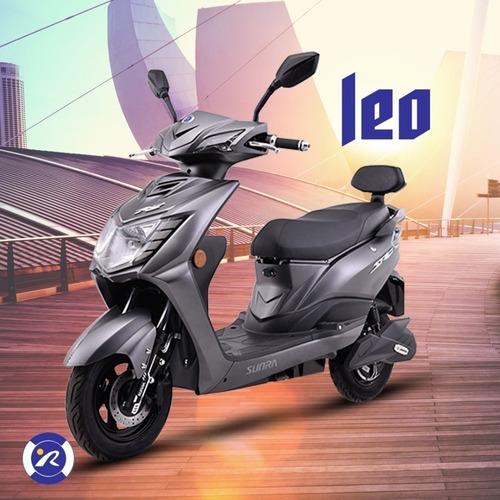 Moto Electrica Leo Bateria De Litio 50km - Sunra Centro  /d