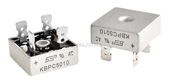 3 Pontes Retificadoras Kbpc5010 1000 Volts 50 Amperes