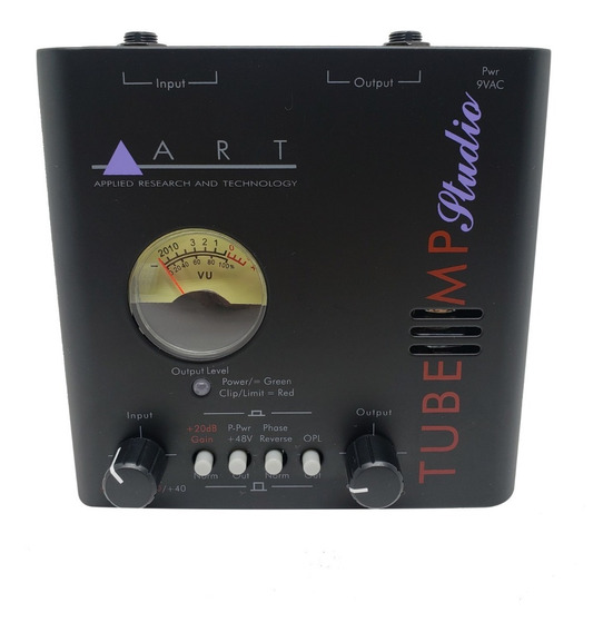 Pre Amplificador Valvulado Art Tube Mp Studio Phantom Power