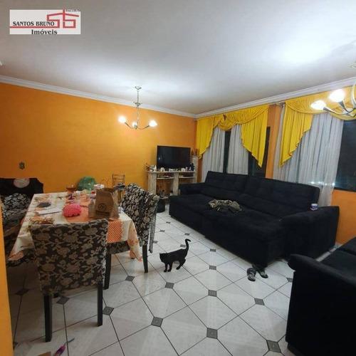 Sobrado Com 3 Dormitórios À Venda, 137 M² Por R$ 799.000,00 - Freguesia Do Ó - São Paulo/sp - So1369