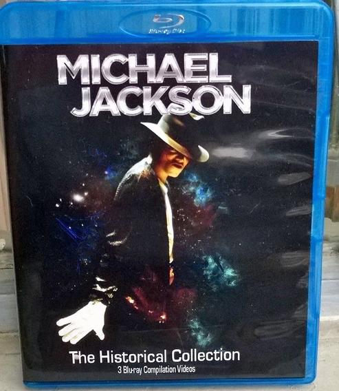 Bluray Triplo Michael Jackson - Frete Gratis