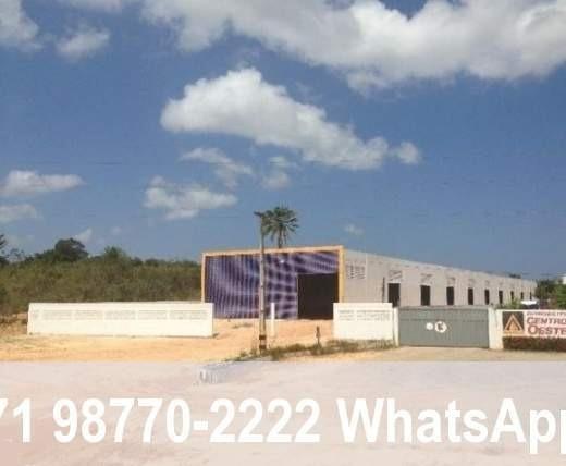 Área Industrial Para Locação Em Camaçari, Via Parafuso - 99965_2-321388