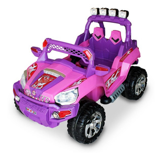 Carro Eléctrico Para Niñas Montero 12v R/c
