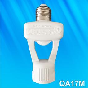 Sensor Presença Fotocélula Bocal Soq. E-27 Qa17m Qualitronix