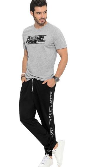 Conjunto Deportivo Hombre Jogger Y Camiseta
