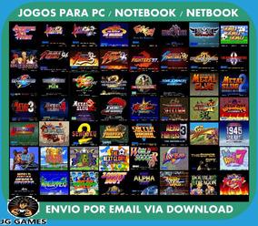 Neo Geo 590 Jogos + Emulador Pc Jogos Digitais