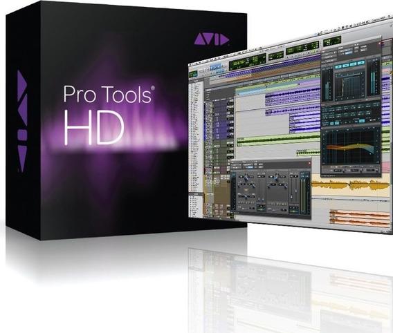 Pro Tools Hd 10+pacotão De Plugins! Mac! C/ Suporte!