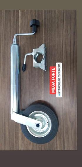Pedestal Roda E Pé Apoio Roda Boba Quinta Roda Reboque