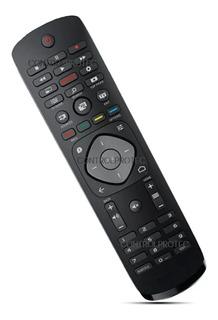 Control Remoto Philips Netflix 4k 5000 49f65102/77 Smart Led