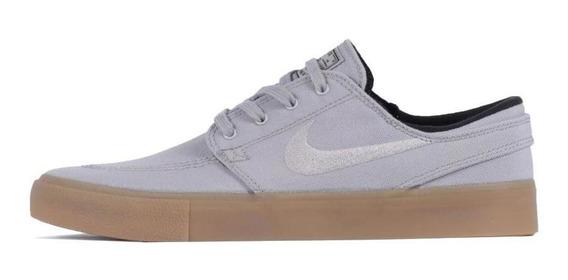 Tênis Nike Sb Zoom Janoski Cnvs Rm Cinza E Latex