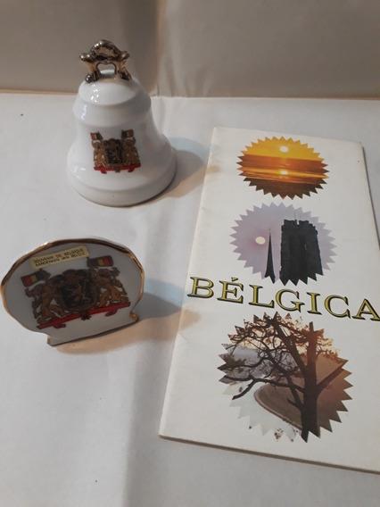 Cerámica Decorativa, Campana Y Catálogo De Bélgica.