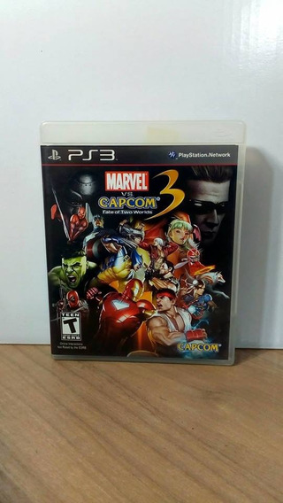 Marvel Vs Capcom 3 Fate Of Two Worlds Ps3 Usado