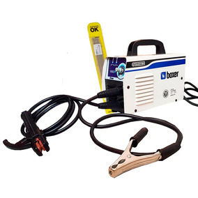 Kit Máquina De Solda Inversora Boxer Touch 150 Com Eletrodo