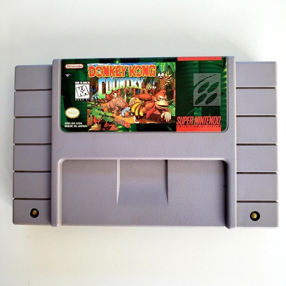 Donkey Kong Country Original Snes