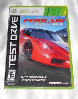 Xbox 360 Test Drive Ferrari Racing Legends Con Envio