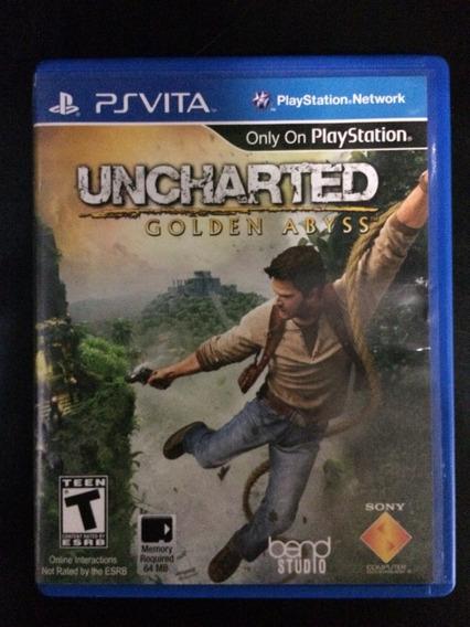 Uncharted Golden Abyss Ps Vita - Semi-novo - Original