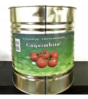 Tomate Triturado Lata X 8 Kilos Cia Aceitunera