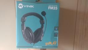 Fone De Ouvido Headset Vinik Go Play Fm35