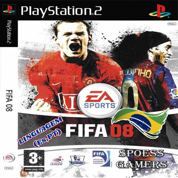 Fifa 08 Ps2 Futebol Patch Ptbr