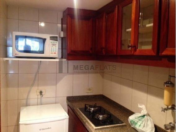 05347 - Flat 1 Dorm, Itaim Bibi - São Paulo/sp - 5347