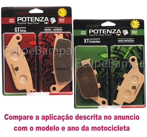 Imagem 1 de 6 de Kit Pastilha Potenza Diant+tras Cb500f Cb500x 226gt+140xt