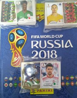 Album Copa Do Mundo Rússia 2018 Capa Dura Sem Colar