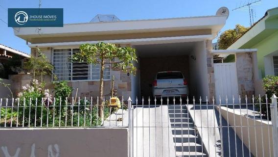 Casa Residencial À Venda, Jardim Vila Rosa, Valinhos - Ca2602. - Ca2602