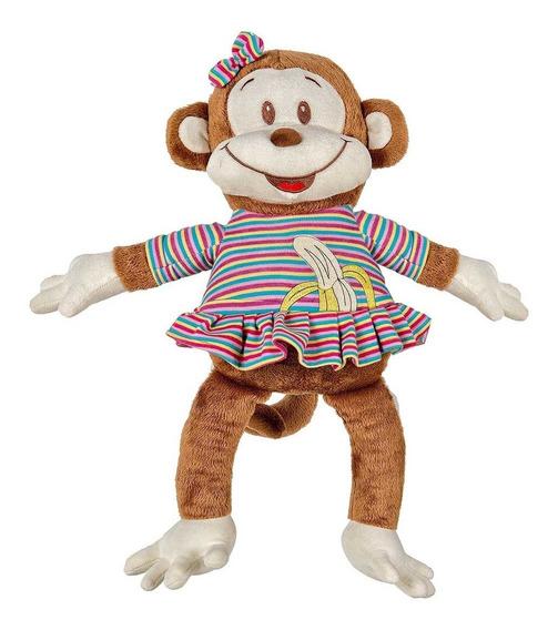 Macaco De Pelúcia Juca Pink