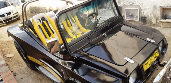 Buggy Volkswager, Motor 1.8 Santana Todo Cromado E Inox.
