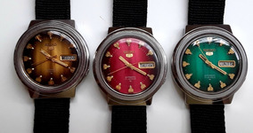 Relógio Seiko 7009 8190. Pague Um E Leve Três