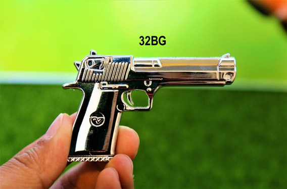 Pen Drive 32gb Pistola Metal - Pronta Entrega