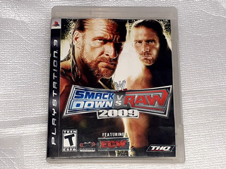 Wwe Smackdown Vs Raw 2009 - Físico - Ps3