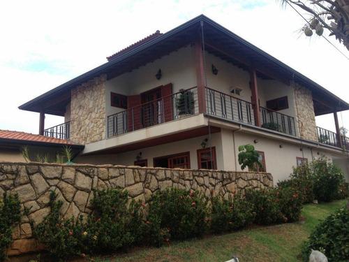 Casa Com 5 Dormitórios À Venda, 393 M² Por R$ 1.630.000,00 - Tijuco Das Telhas - Campinas/sp - Ca3971
