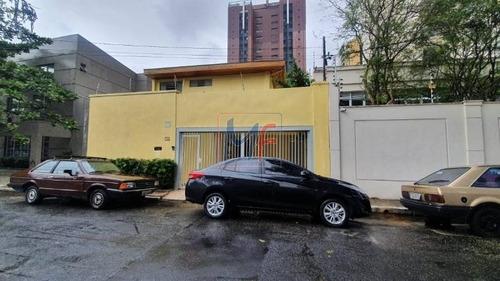 Imagem 1 de 26 de Ref 13.031- Excelente Casa, Localizada No Bairro Indianópolis, 200 M² A.c, 230 M² A.t, Frente 10 M, Fundo 10 M, 3 Dorms, 1 Suíte, 3 Vagas. - 13031