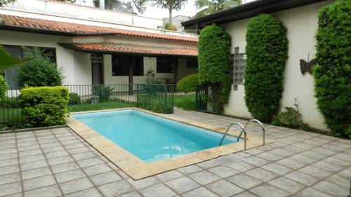 Imagem 1 de 30 de Casa 5 Dormitórios Na Chácara Monte Alegre - Reo281198