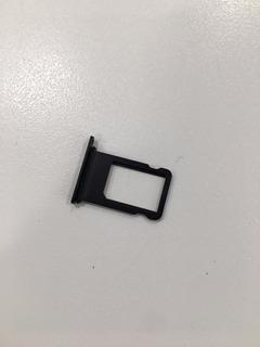 Bandeja Porta Sim O Chip iPhone 7 Original Negro Mate Rosa