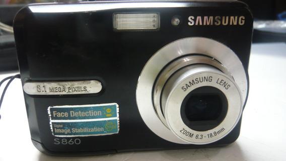 Câmera Samsung S860 8.1 Megapixels Usada!!!