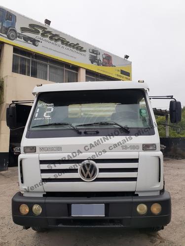 Vw 13.180/2012 - Carroceria C/ Pino Para Container