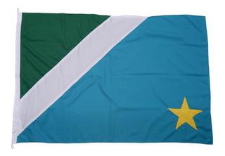 Bandeira Do Mato Grosso Do Sul E Três Lagoas Tam 90x129cm