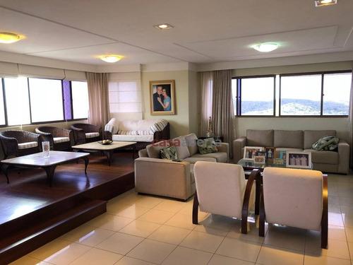 Imagem 1 de 30 de Apartamento Com 4 Dormitórios À Venda, 296 M² Por R$ 1.150.000,00 - Tirol - Natal/rn - Ap0053
