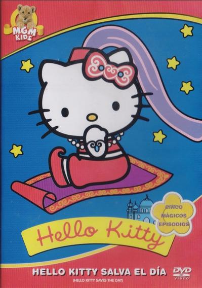 Hello Kitty Salva El Dia Coleccion 5 Episodios Dvd