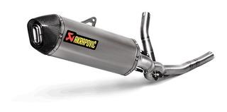 Escape Completo Akrapovic Suzuki V Strom 650 Titanium Racing
