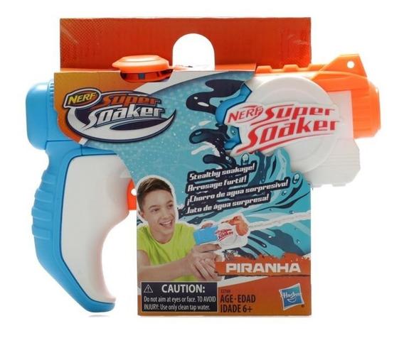 Lanzador De Agua Nerf Soaker Piranha Pistola Agua