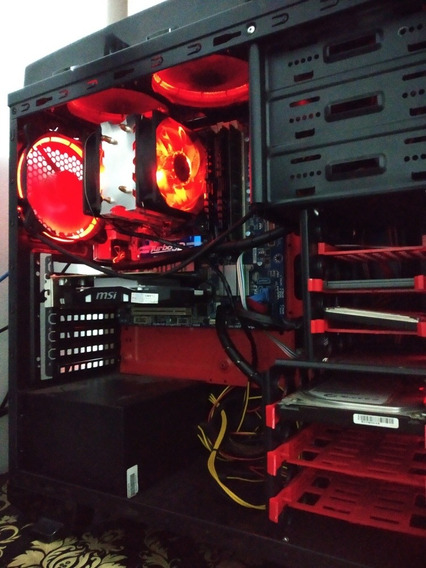 Pc Gamer- Gtx1050ti-ssd-12gb Ram
