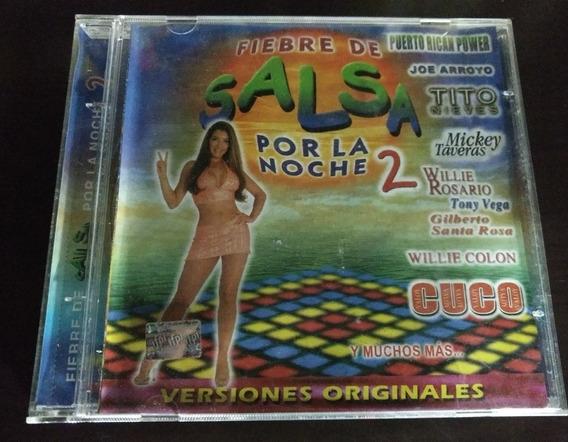 Fiebre De Salsa Por La Noche 2 Cd