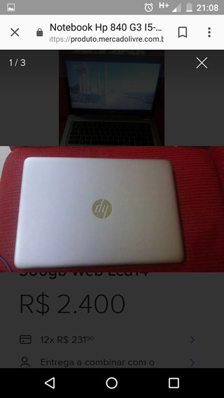 Notebook Hp 840