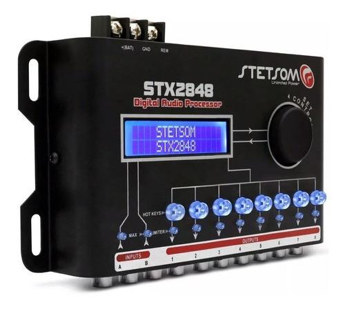 Processador De Audio Stx-2848 Equalizador Crossover Stetsom