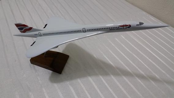 Miniatura De Avião Concorde British Airways M