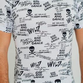 Camiseta Barrocco Rise And Dance 100% Algodão