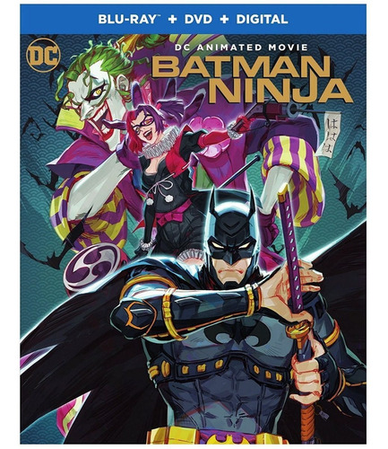 Imagen 1 de 2 de Blu-ray + Dvd Batman Ninja